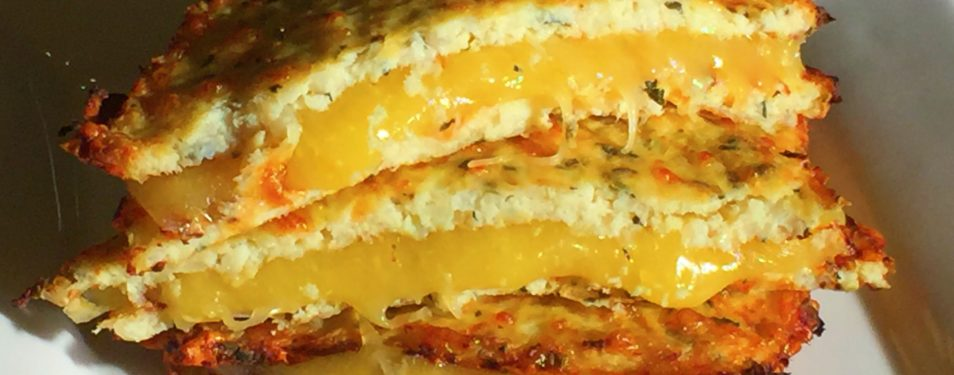 Grain- Free, Low Carb Grilled Cheese!...